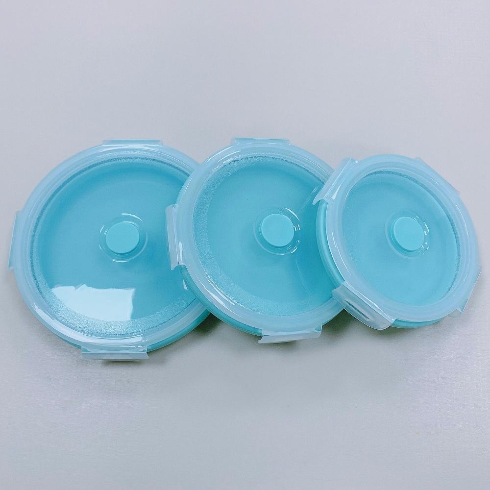 硅胶密封折叠碗