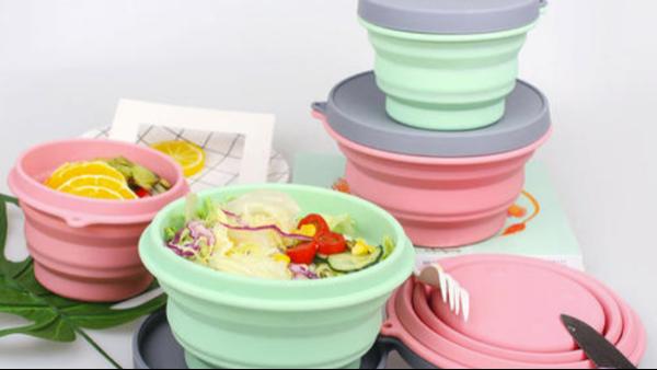 硅胶折叠碗的特点是怎么样的?你知道吗?