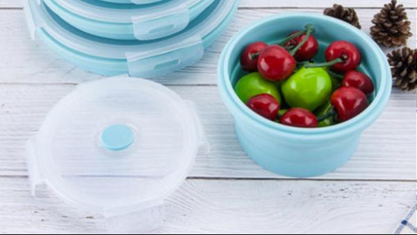 硅胶折叠碗符合婴幼儿需求,是真正的环保型产品