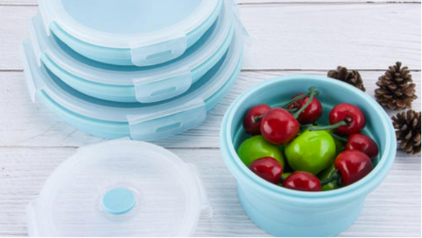 硅胶折叠碗的优点都有什么?你知道吗?