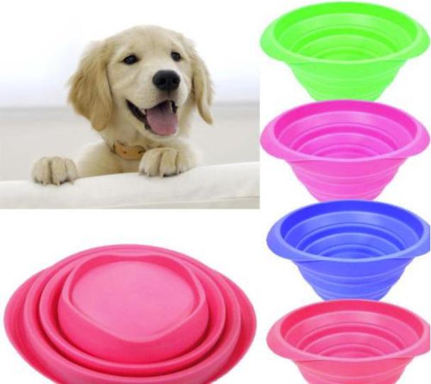 硅胶宠物折叠碗
