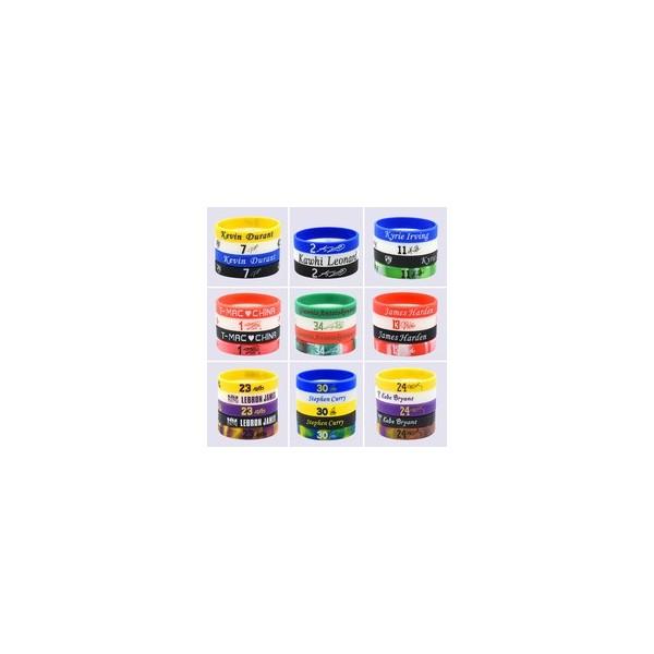球星硅胶手环-产品列表-根源硅胶