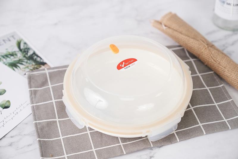 硅胶密封保鲜盘
