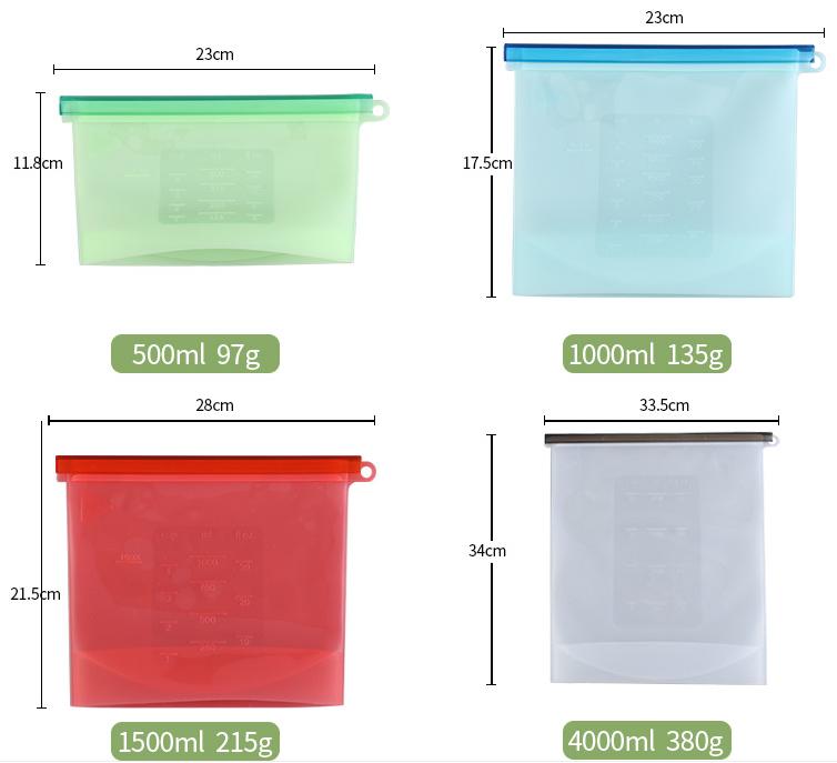 硅胶保鲜袋定制