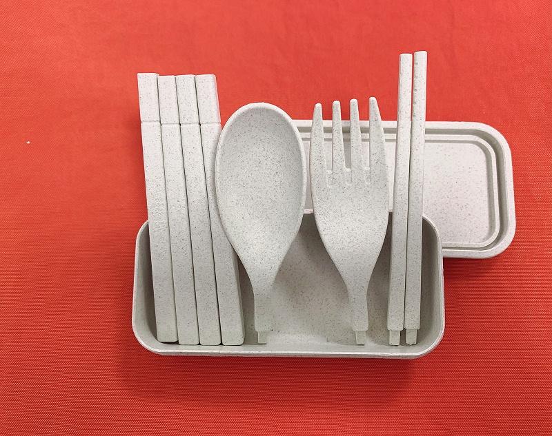 硅胶组装餐具全家福