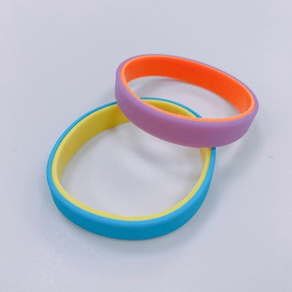 硅胶双色手环