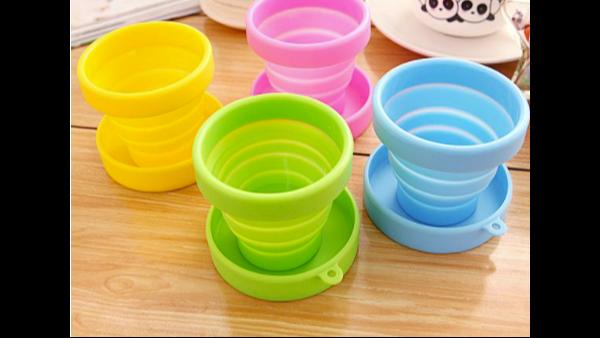 硅胶折叠碗是否造型单一?有没有质感?