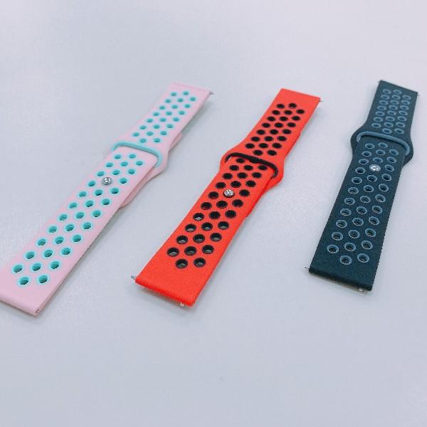 硅胶双色表带定制生产