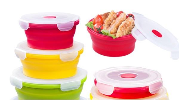 硅胶折叠碗有什么突出性能?你知道吗?