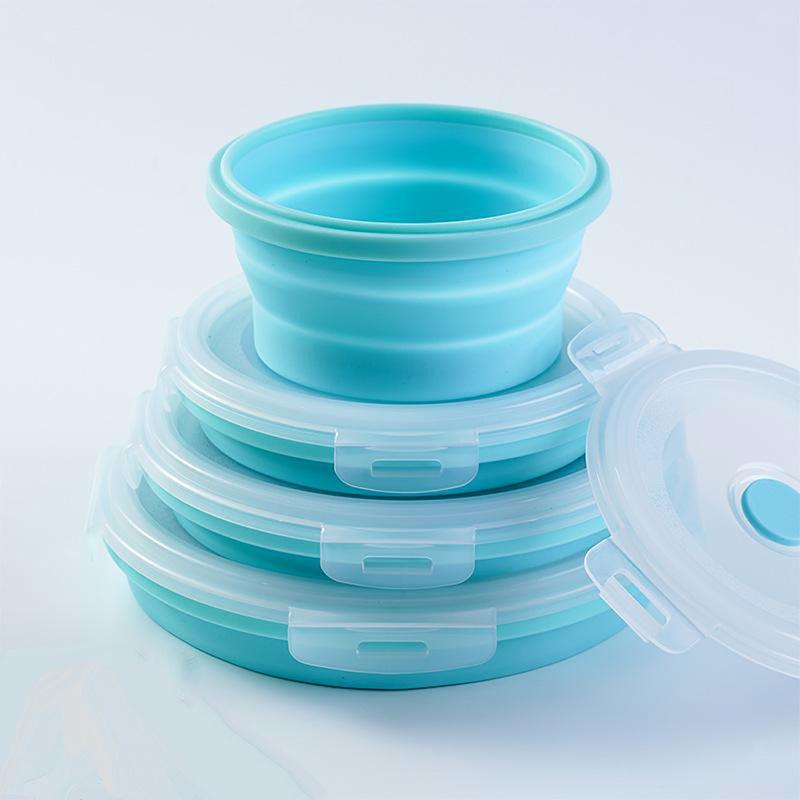 硅胶折叠碗